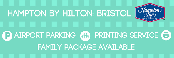 What does Hampton Hilton have to offer you at Bristol Airport
