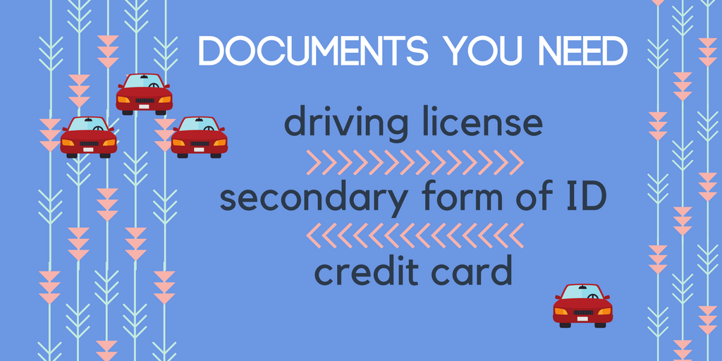 Documents you'll need at Bristol Airport Car hire