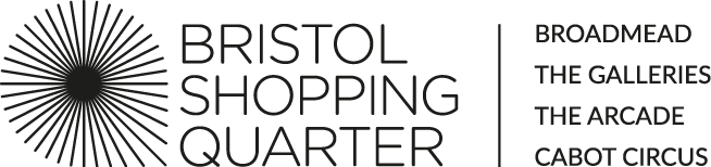 Bristol Shopping quarter and broadmead logo