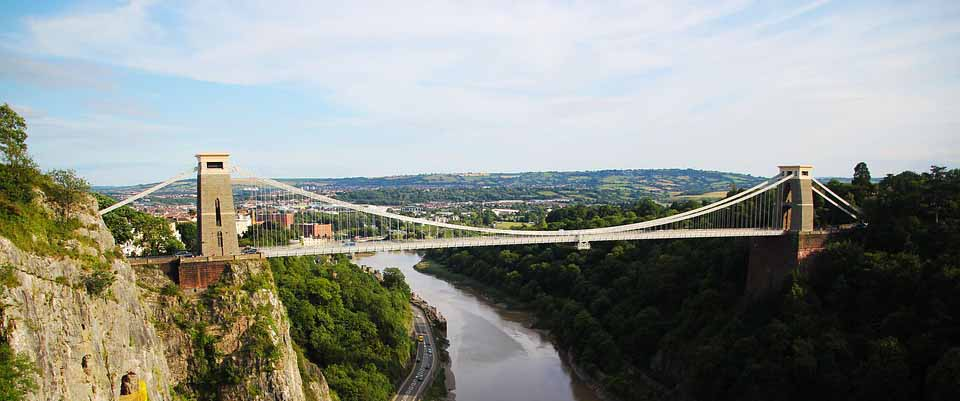 Bristol's Clifton Suspension Bridge