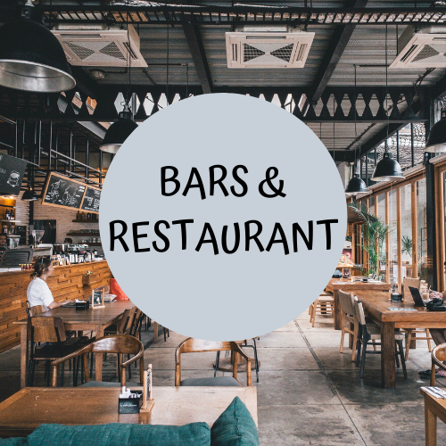 bars and restraunts