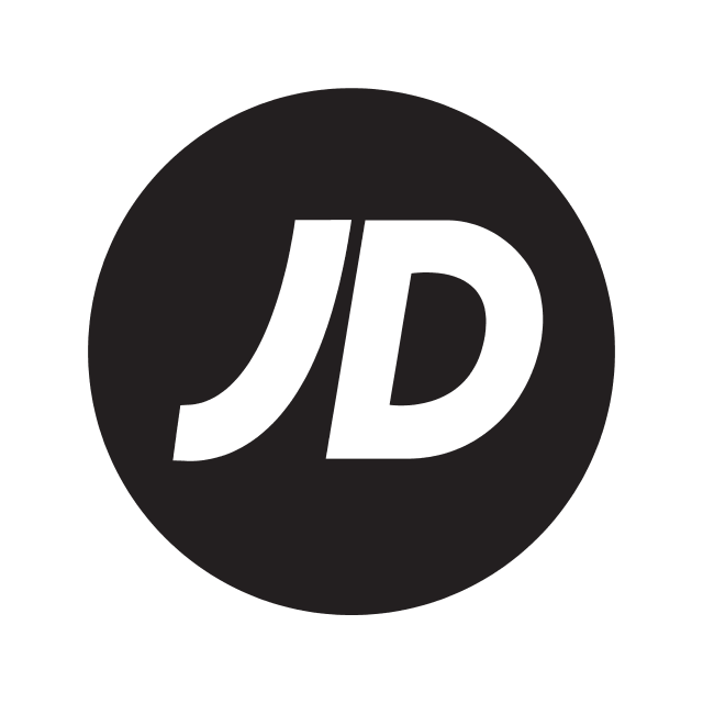 Bristol Airport shopping - jd sports logo